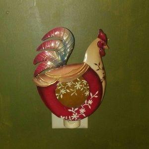 Vintage rooster night light